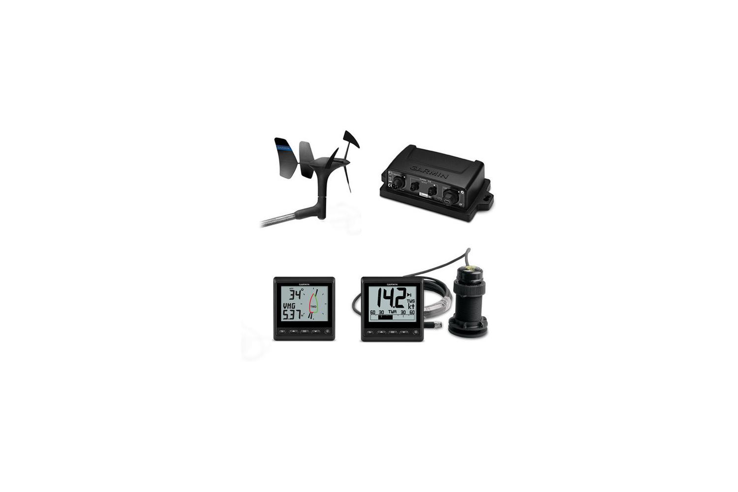 Garmin GNX 52 Wired log, diepte en wind pakket 2