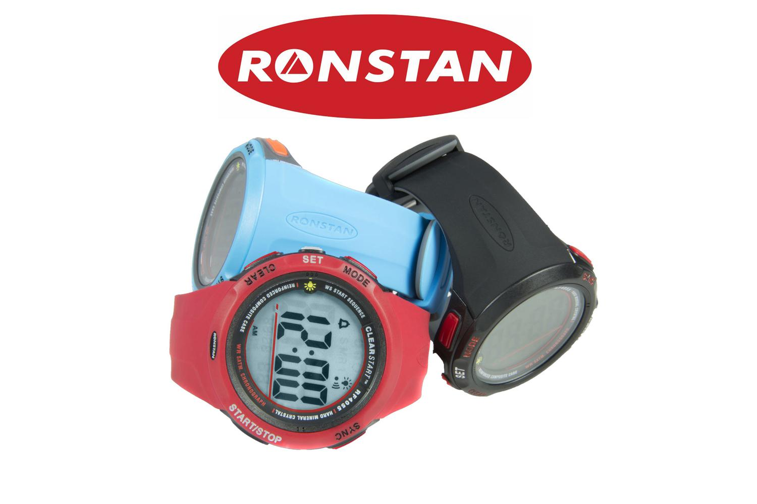 Ronstan zeilhorloge RF4055A Clear start 50 mm - zwart 2