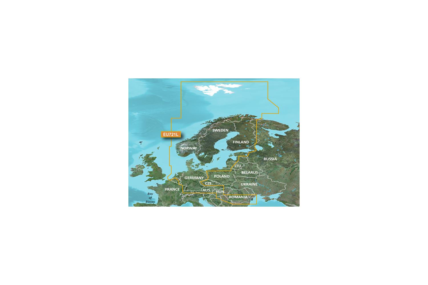 Garmin Bluechart VEU721L Northern Europe G2 Vision 2