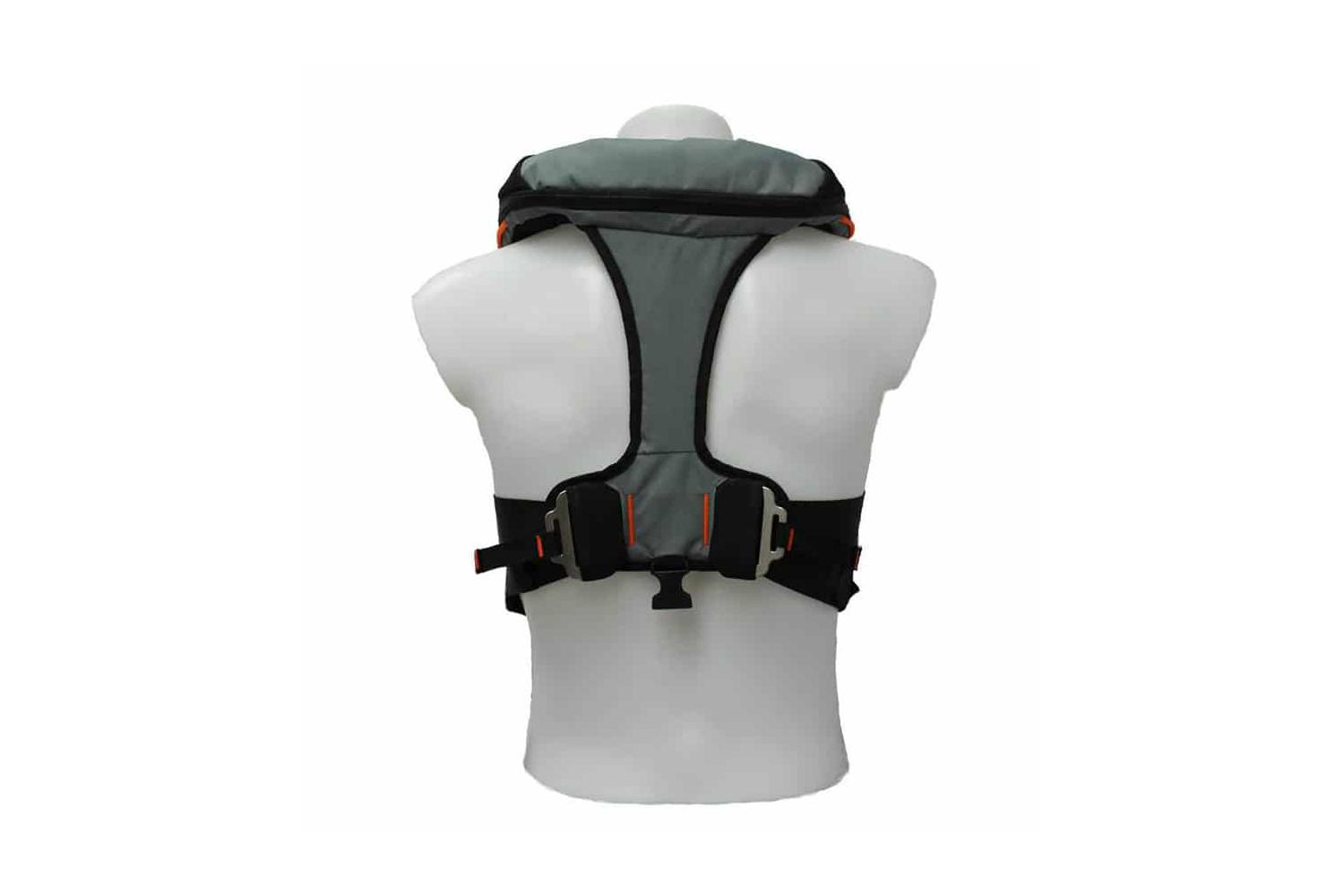 TeamO Marine Backtow 275N reddingsvest grijs
