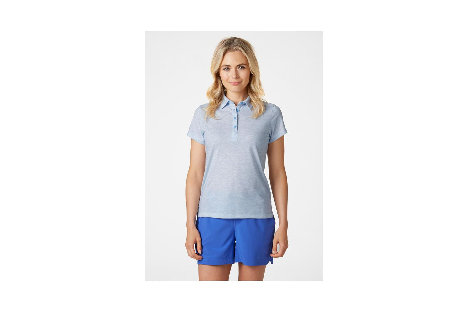 Helly Hansen dames siren polo lichtblauw XL