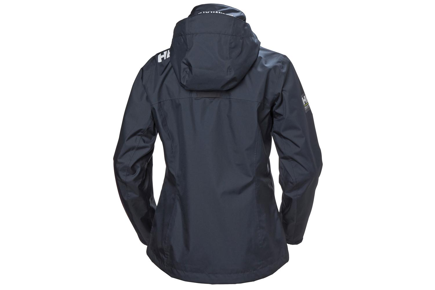 Helly Hansen Dames Crew Hooded Jas Navy XXL