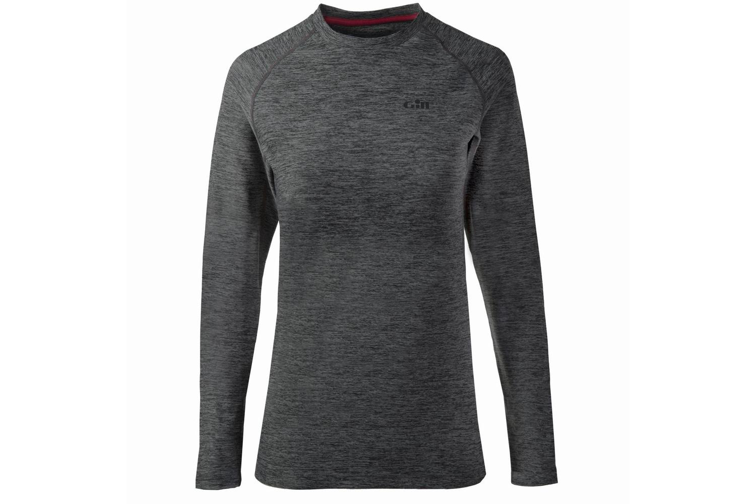 Gill dames thermo long sleeve grijs XL