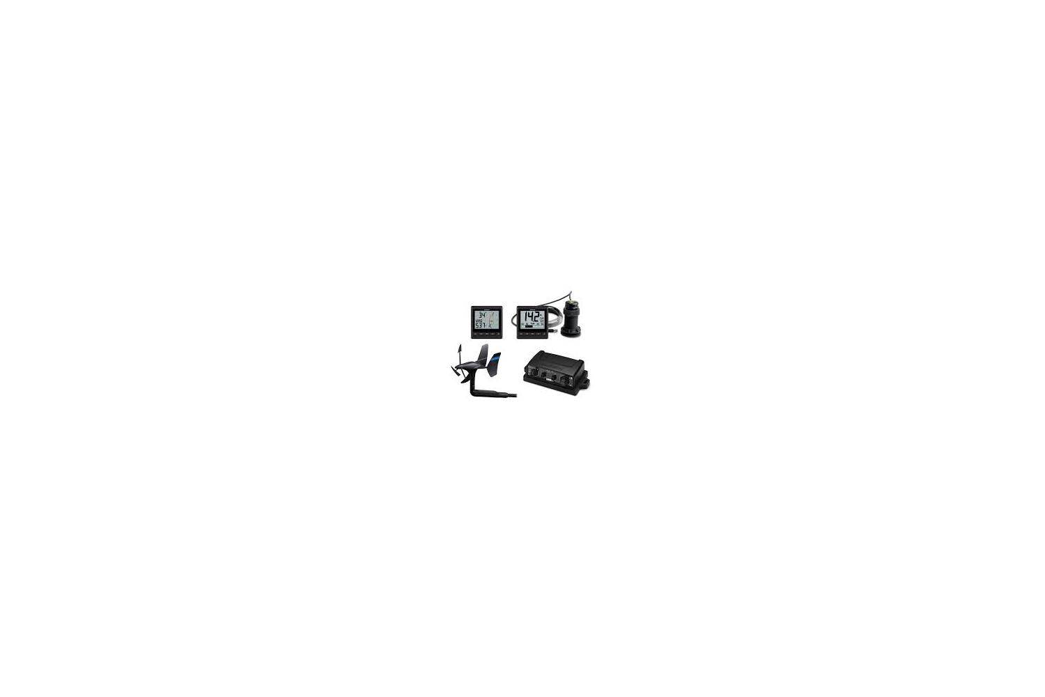 Garmin GNX Wireless Sail Pack TH-52 log,diepte,wind