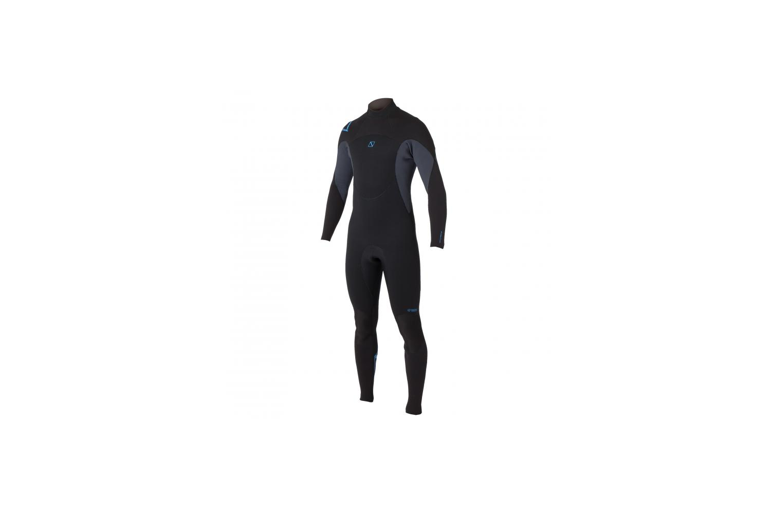 Magic Marine heren Brand 5/4 Fullsuit steamer blauw L