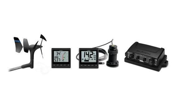 Garmin GNX 52 Wired log, diepte en wind pakket 1