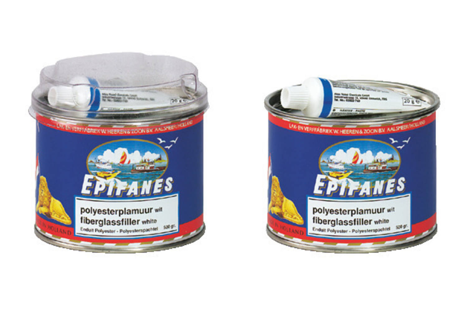 Epifanes Polyesterplamuur wit - 1½kg