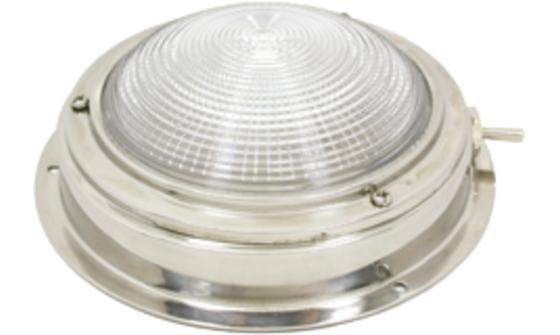 RVS plafonniere | Boot interieurverlichting | Boot verlichting | RVS