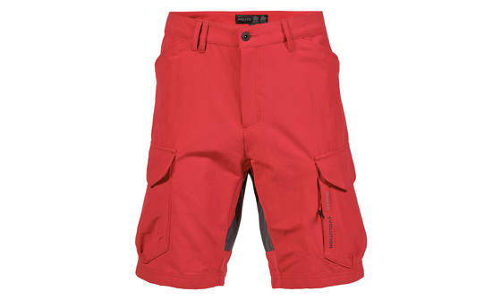 Musto heren Evolution performance Uv korte broek rood 40