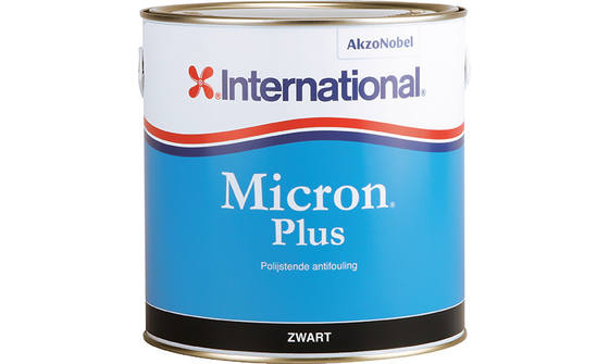 International Micron Plus Antifouling Black - 0,75ltr 1