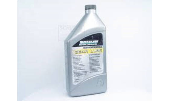 Quicksilver High Performance Gearlube - 1ltr 1