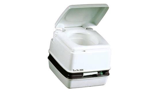 Porta potti chemisch toilet boot toilet thetford